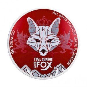 WHITE FOX Snus White Fox Full Charge